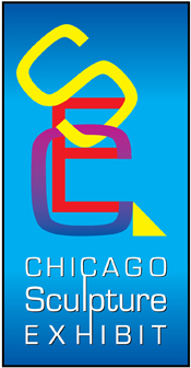 Chicago Sculpture Exhibit logo